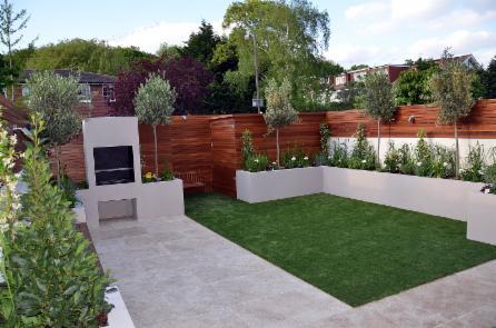Clapham Trellis And Screens Wooden Garden Decking